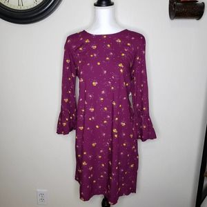 New Old Navy Floral Dress Sheath Hippie Style